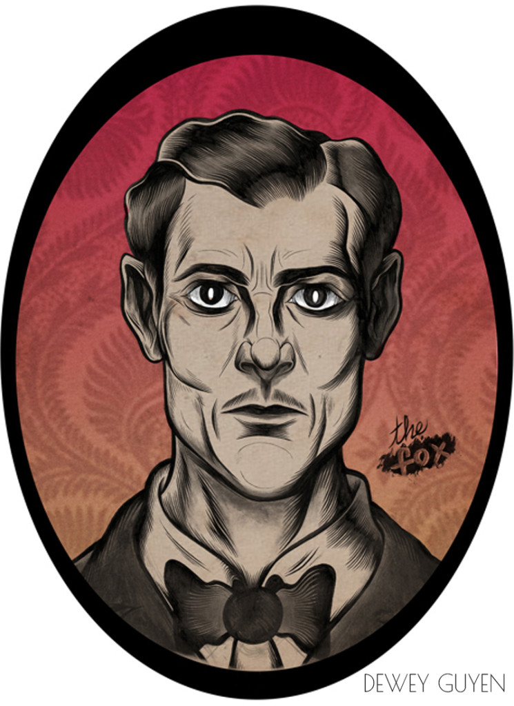 Dewey Guyen. ''The Fox'' Ink on Paper/Digitally Colored, 8.5''x11''.2012