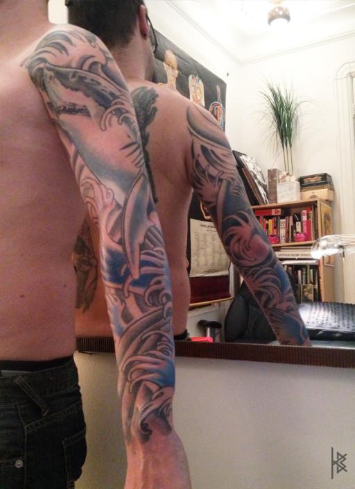 Sharky Tattoo