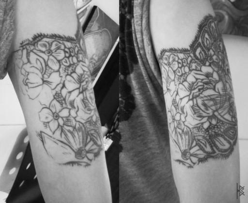 Lacy Catastic Tattoo