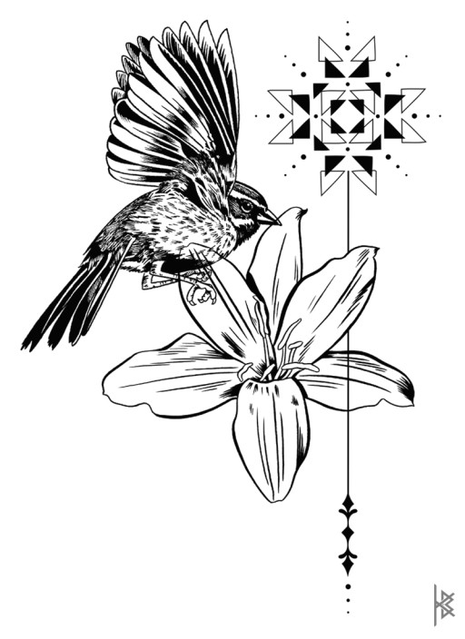 Star Flower Illustration