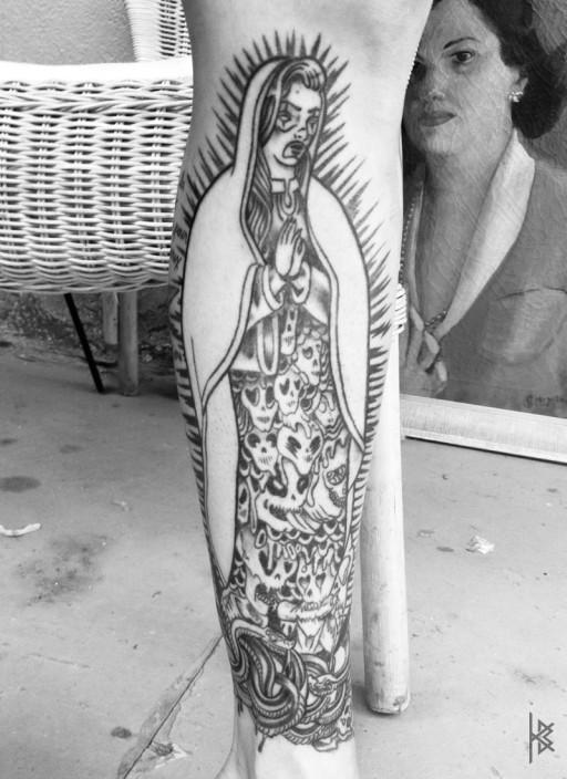 Lady of Sausagelupe Tattoo