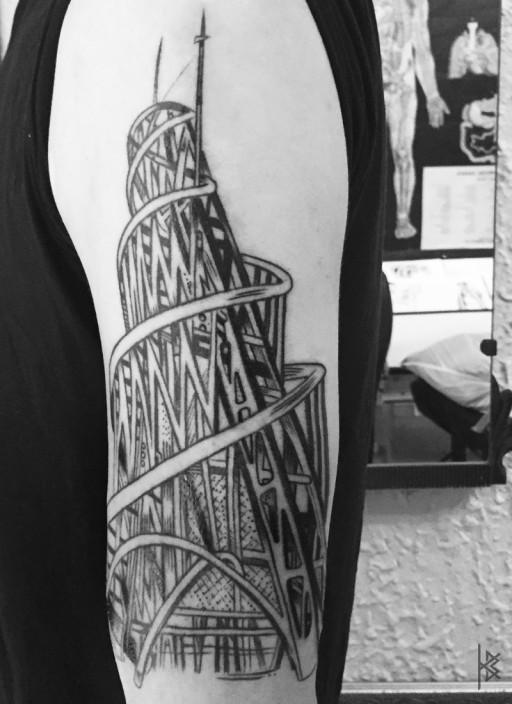 Tatlin Tower Tattoo
