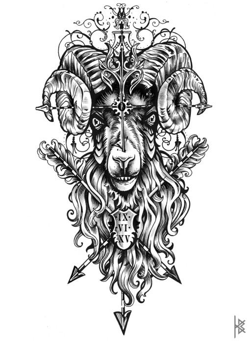 Ram Illustration