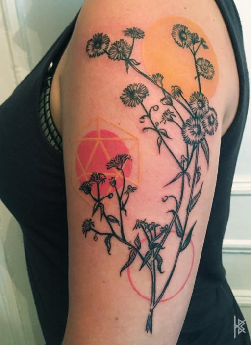Fleabane Tattoo