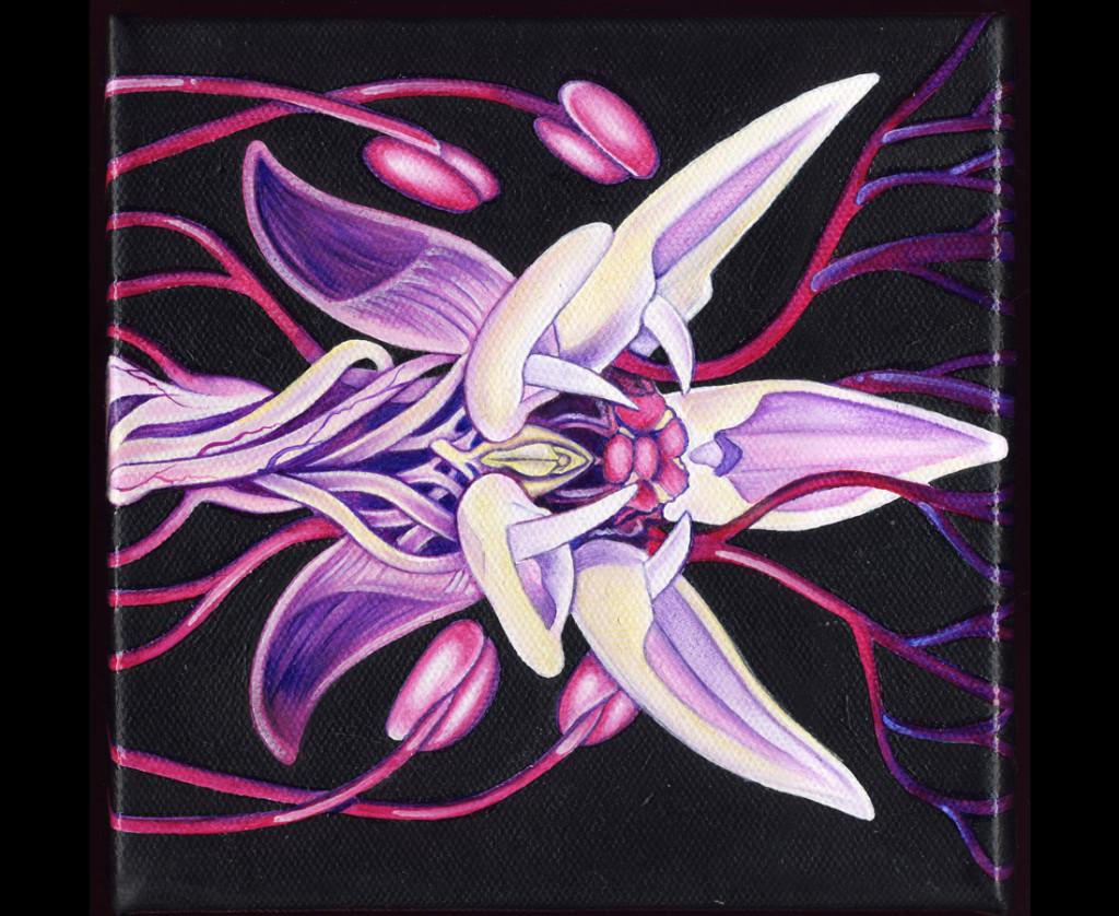 KB. ''Hybrid'' Oil on Canvas, 2007.1