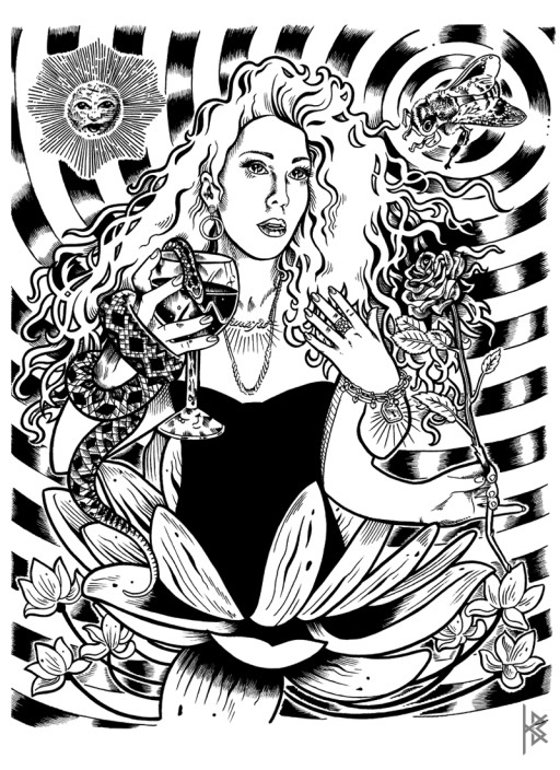 KB. ''Misfit'' Ink on Paper, 8.5''x11''. 2011