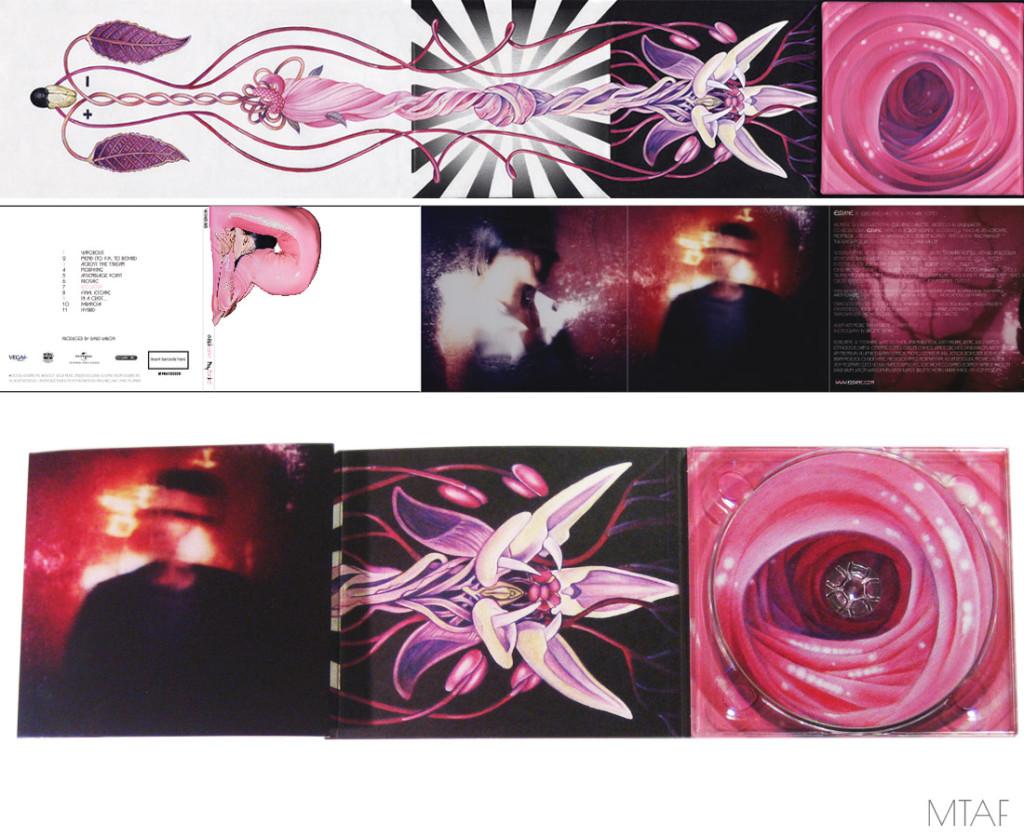 Elsiane, Hybrid Digi-Pack CD. 2007