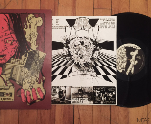 ''Toronto's Burning'' Hardcore LP, Produced by Schizophrenic Records, 2008.
