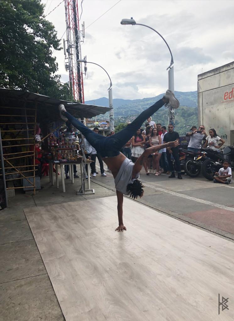 BLACK & WHITE Breakdancer (Top of District)