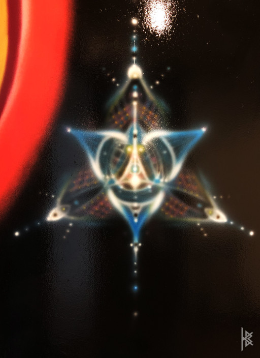 """""""""""Cosmic Star"""" Airbrush Paint"""